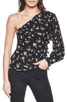 Bardot Women's Ruffle One-Shoulder Top