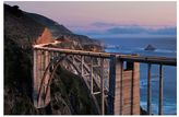 Pottery Barn Bixby Bridge Dusk Framed Print By Katherine Gendreau
