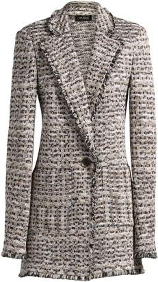 St. John Space Dyed Tweed Jacket