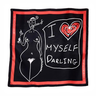 Jemimasara Martini Lady Self Love Silk Scarf