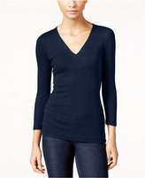 INC International Concepts Ribbed Top, Only at Macy's