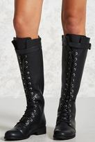 Forever 21 Knee-High Combat Boots