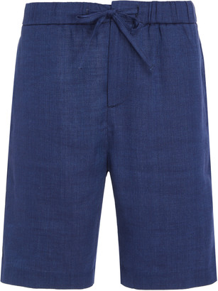 Frescobol Carioca Long Linen Sport Shorts