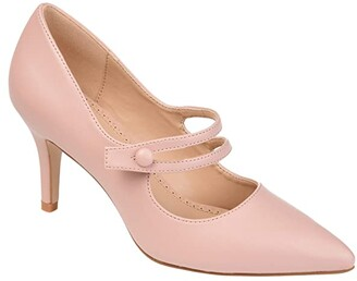 Journee Collection Sidney Pump (Coral) Women's Shoes