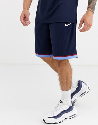 Nike Basketball classic shorts in navy