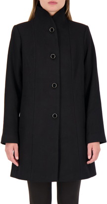 Kate Spade Wool Blend Twill Coat
