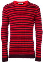 Umit Benan striped jumper - men - Polyester/Wool - 50