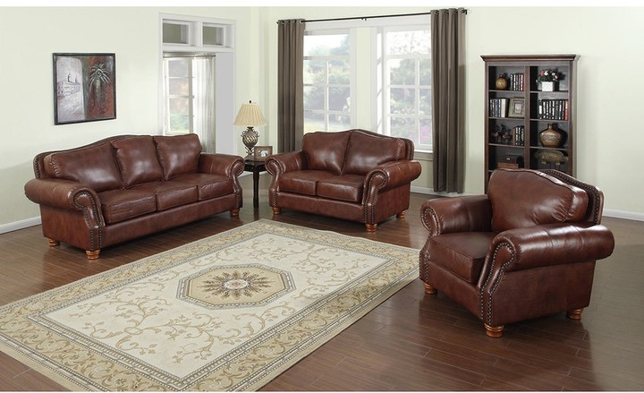 Leather Sofa Set Shop The World S Largest Collection Of Fashion Shopstyle