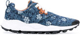 Flower Mountain - floral sneakers - women - Cotton/Leather - 36