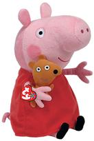 Peppa Pig Ty Buddy Beanie Baby, 33cm