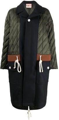Plan C Quilted Oversize Coat