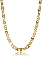 Tory Burch Core Gemini Gold Tone Metal Link Chain Necklace