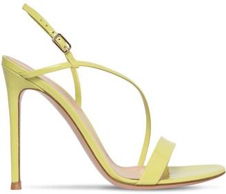 Gianvito Rossi 105mm Manhattan Patent Leather Sandals