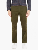 Gosha Rubchinskiy Olive Relaxed Cotton-Twill Trousers