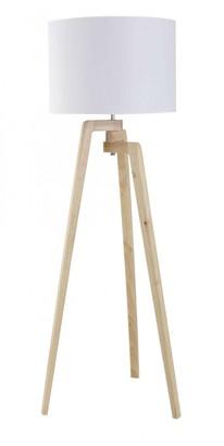 Albi Imports Oslo Floor Lamp Wood/white