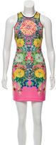 Clover Canyon Digital Print Neoprene Dress