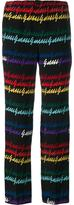 Gucci signature print pyjama trousers - women - Silk - 36