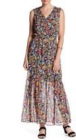 ECI Sleeveless Floral Maxi Dress