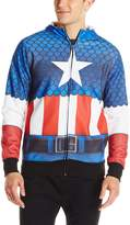 Marvel Men's Classic Sublimated Costume Hoodie