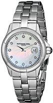 Raymond Weil Women's 9460-ST-97081 Parsifal Diamond-Accented Stainless Steel Watch