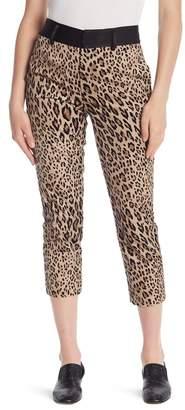 Frame Cheetah Print Tux Pants
