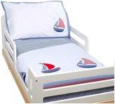 Jo-Jo JoJo Maman Bebe Nautical Applique Cot Bed Duvet Set - Nautical