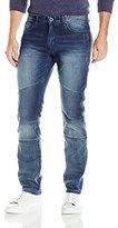 Calvin Klein Jeans Men's Slim Fit Moto Jean Sunlit Blue