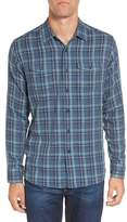 Grayers Men's Smith Double Cloth Plaid Sport Shirt