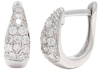Diamond Select Cuts 14K 0.25 Ct. Tw. Diamond Hoops