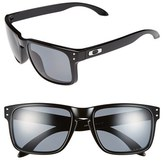 Oakley Men's 'Holbrook' 55Mm Polarized Sunglasses - Polished Black