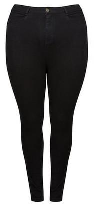 Dorothy Perkins Womens Dp Curve Black 'Shape & Lift' Skinny Jeans, Black