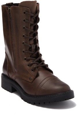Zigi Girl Rosaline Leather Combat Boot