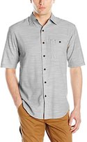 Wolverine Men's Birchwood Chambray Slub Short Sleeve Shirt
