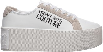 Versace Tangerina Wedge Sneakers