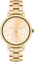 INC International Concepts Women's Two-Tone Bracelet Watch 38mm IN015RGG, Only at Macy's