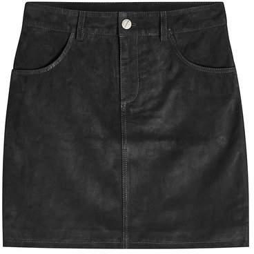 Anine Bing Suede Skirt