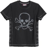 City Threads Skull Outline Graphic Tee (Baby) - Black-18-24 Months