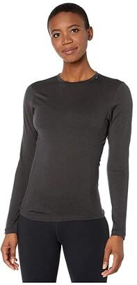 Helly Hansen Merino Light Long Sleeve (Ebony) Women's Clothing