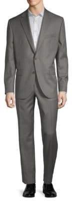 Jack Victor Classic Fit Esprit Buttoned Wool Suit