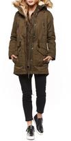 Dex Khaki Lined Coat