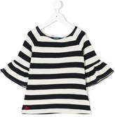 Ralph Lauren striped bell-sleeve T-shirt