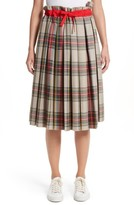 Sofie D'hoore Women's Pleated Technical Gabardine Skirt