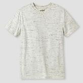 Cat & Jack Boys' Heathered V-Neck T-Shirt
