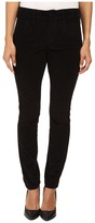 NYDJ Petite Petite Alina Leggings Jeans in Corduroy in Black