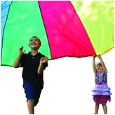 Pacific Play Tents 12' Parachute with No Handles and Carry Bag
