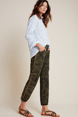 Sanctuary Camo Cargo Joggers By in Green Size 28