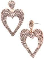 BaubleBar Amara Heart Drop Earrings