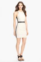 Milly Cutaway Stretch Sheath Dress