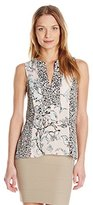 BCBGMAXAZRIA Women's Vicky Printed Top