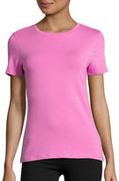 Lord & Taylor Compact Cotton T-Shirt